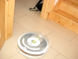 Picture of the roomba