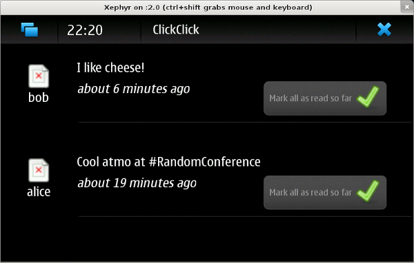 Initial maemo version