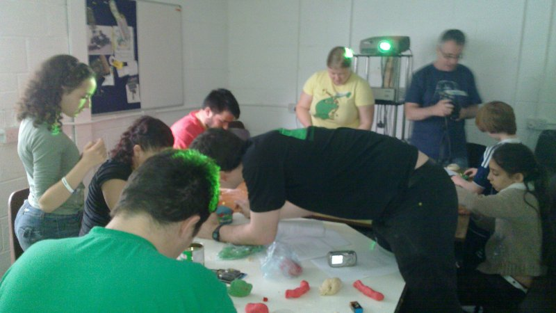 Picture of a group of people during the workshop